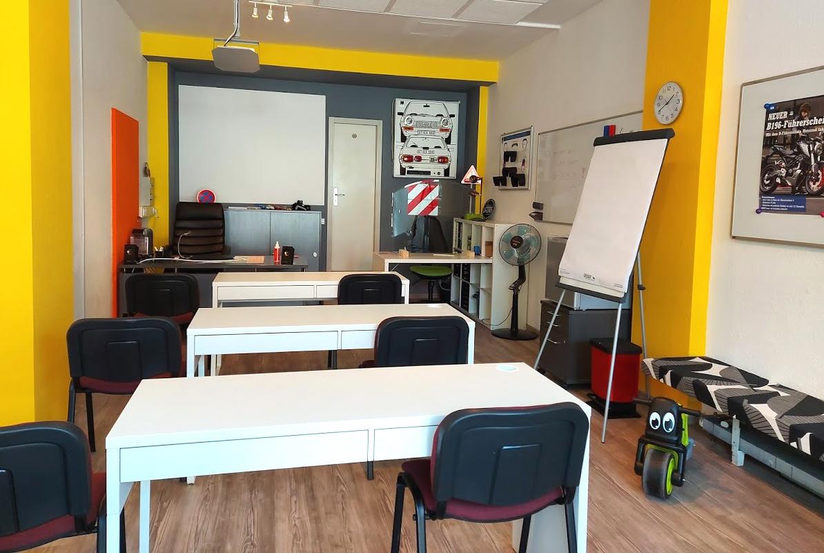 Unterrichtsräume Fahrschule Rosenheim